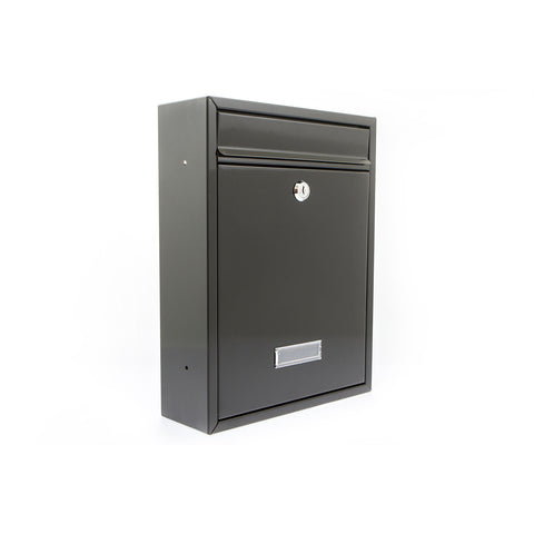 G2 By Sterling Trent Post Box In Black - Post Boxes