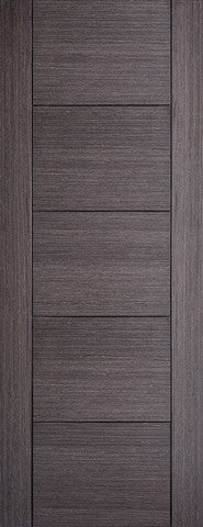 Lpd Internal Ash Grey Vancouver Solid Door - Internal Doors