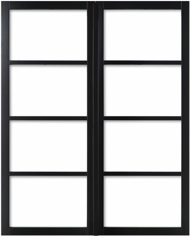 Weekamp Doors Internal Model 2 Industrial Style French Door Pair