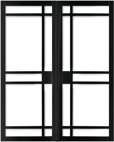 Weekamp Doors Internal Model 1 Industrial Style French Door Pair