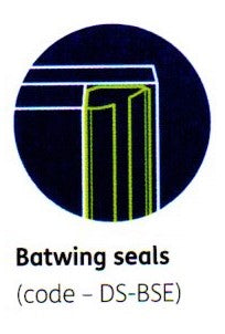 XL Joinery Simpli Doorset Batwing Seals
