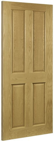 Deanta Doors Internal Bury Oak Pre-Finished Fire Door - MODA Doors