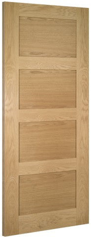 Deanta Doors Internal Coventry Oak Un-Finished Fire Door - Internal Doors
