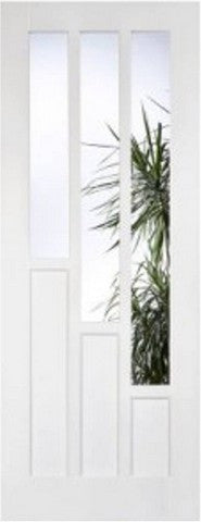 Lpd Internal White Primed Coventry Glazed Door - Internal Doors