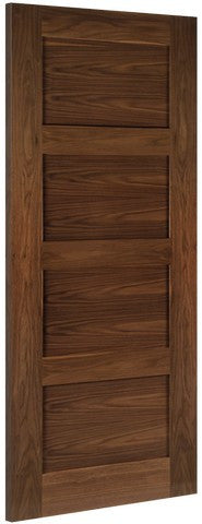 Deanta Doors Internal Coventry Walnut Pre-Finished Fire Door - Internal Doors