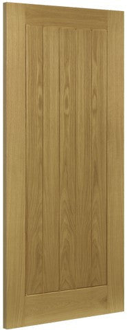 Deanta Doors Internal Ely Oak Un-Finished Door - MODA Doors