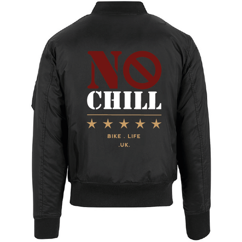 No Chill Bike Life - Bomber Jacket