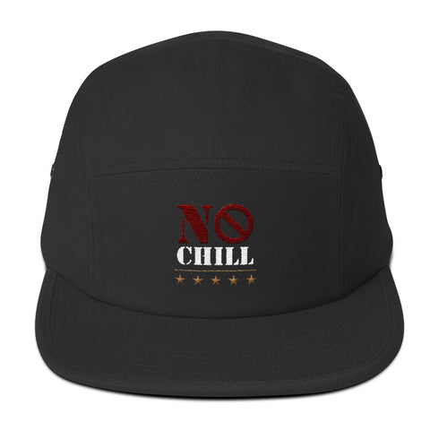 No Chill Bike Life - Five Panel Cap