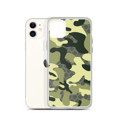 Stay Stuntin - Green Camo iPhone Case