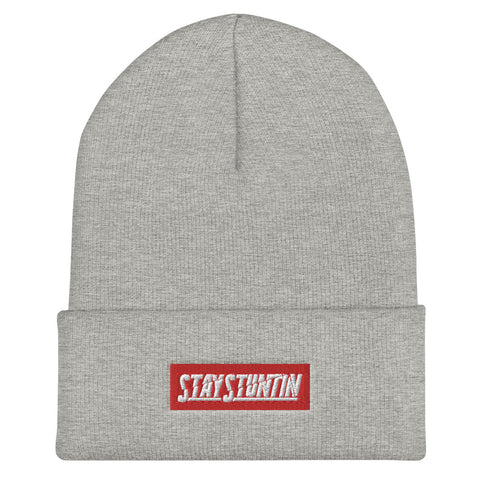 Stay Stuntin - Red Label Beanie