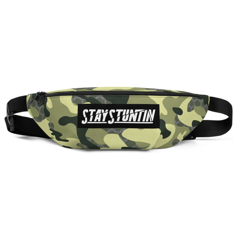 Stay Stuntin - Green Camo Bikelife Bag
