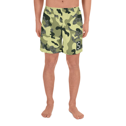 Stay Stuntin - Green Camo Shorts