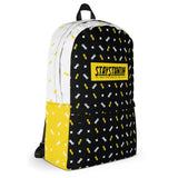 Stay Stuntin Yellow Label - Bikelife Backpack