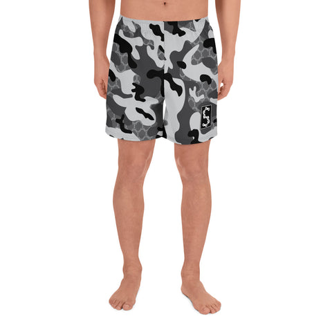 Stay Stuntin - Grey Camo Shorts