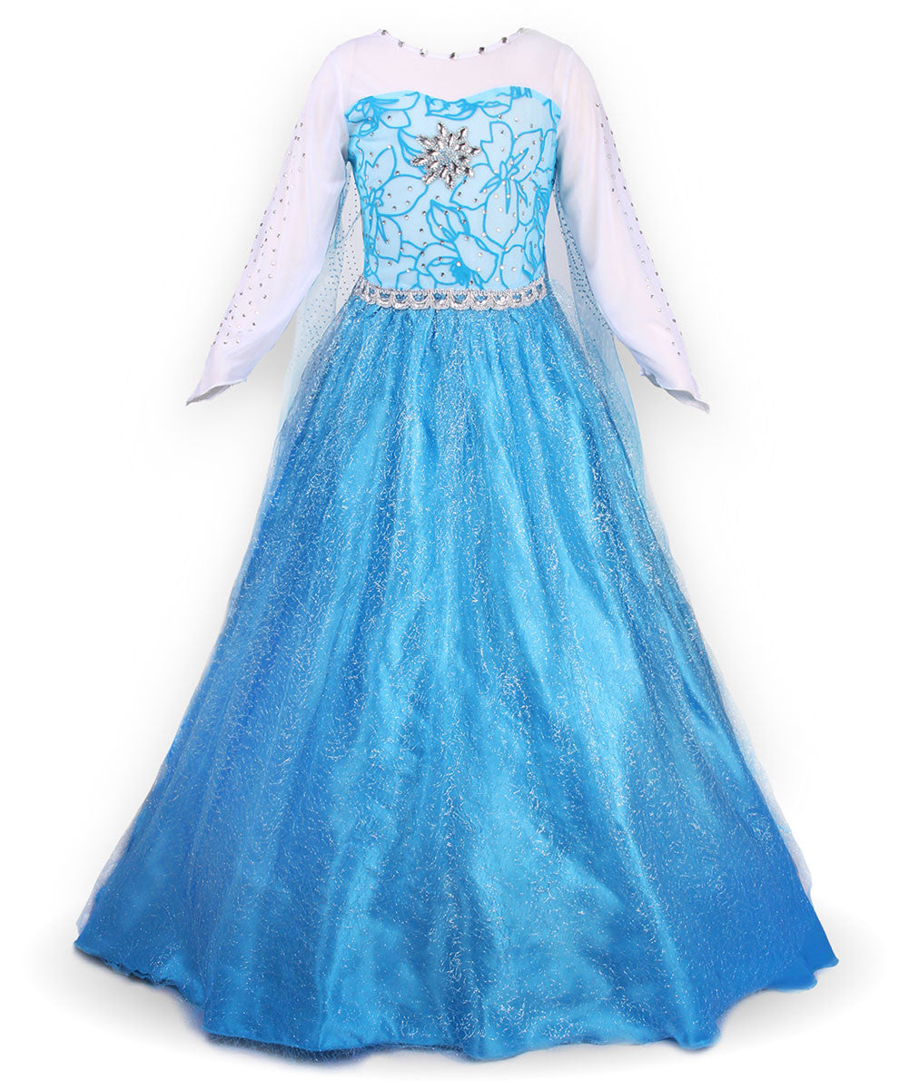 JerrisApparel Snow Party Cosplay Little Girl Dress Up