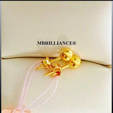 Buy White Yellow Rose Gold earrings for women and girls in