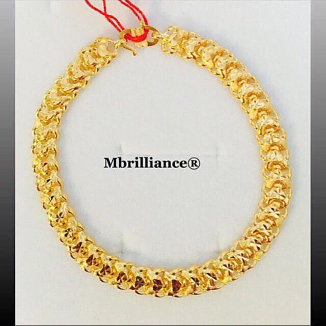 Copy of 5mm vitara bracelet 916 Yellow Gold by Mbrilliance