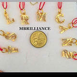 Alpha Pendants 22k / 916 solid Yellow Gold Pendant by Mbrilliance