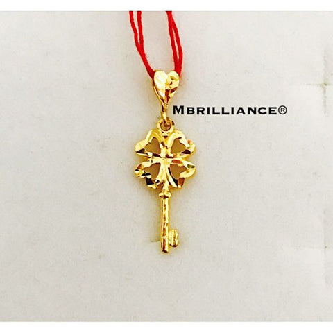 Key pendant 22k / 916 solid gold Mbrilliance