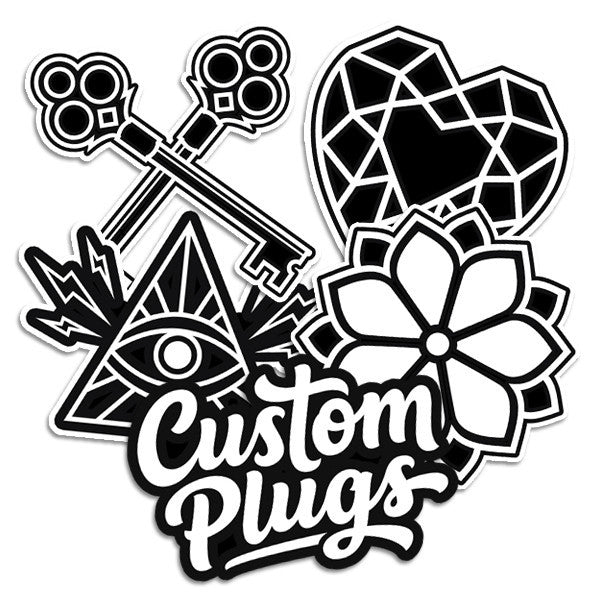 Bold - Sticker Pack - Custom Flesh Plugs & Gauges, Alternative, Tattoo - Stickers - 1