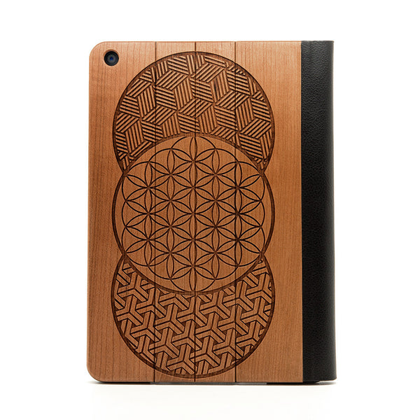Geo Circles iPad Air Case - Custom Flesh Plugs & Gauges, Alternative, Tattoo - iPad Case - 1
