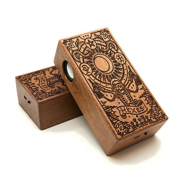 Hexes Wireless Speaker Box - Custom Flesh Plugs & Gauges, Alternative, Tattoo - Speaker - 1