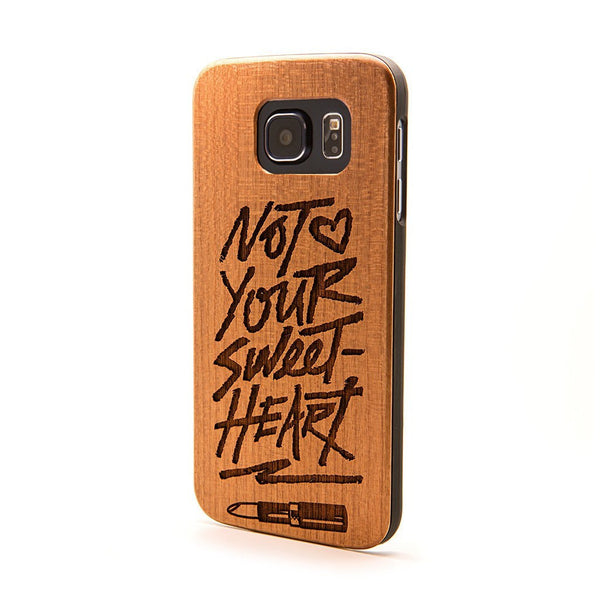 Not Your Sweetheart - Samsung Galaxy Case - Custom Flesh Plugs & Gauges, Alternative, Tattoo - Phone Cases - 1