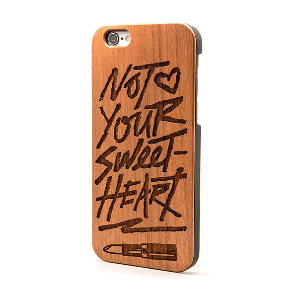 Not Your Sweetheart - iPhone Case - Custom Flesh Plugs & Gauges, Alternative, Tattoo - Phone Cases - 1