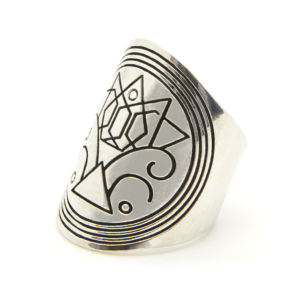 Sigil Ring - Custom Flesh Plugs & Gauges, Alternative, Tattoo - Jewellery - Ring - 1