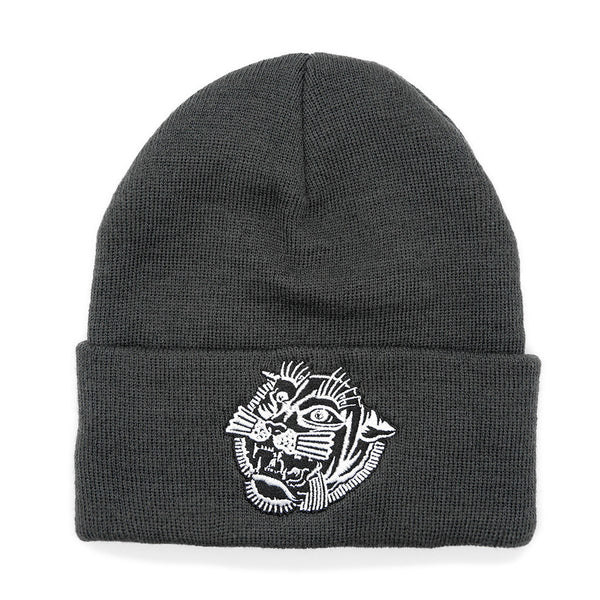 Tiger Dark Grey Beanie