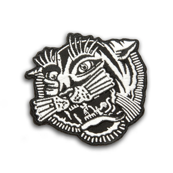 Tiger Patch - Custom Flesh Plugs & Gauges, Alternative, Tattoo - Patch - 1