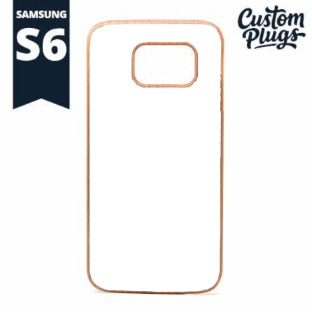Samsung Galaxy S6 Wooden Case - Custom Plugs - Best Ear Gauges, Flesh Tunnels For Stretched Ears - Phone Cases - 1