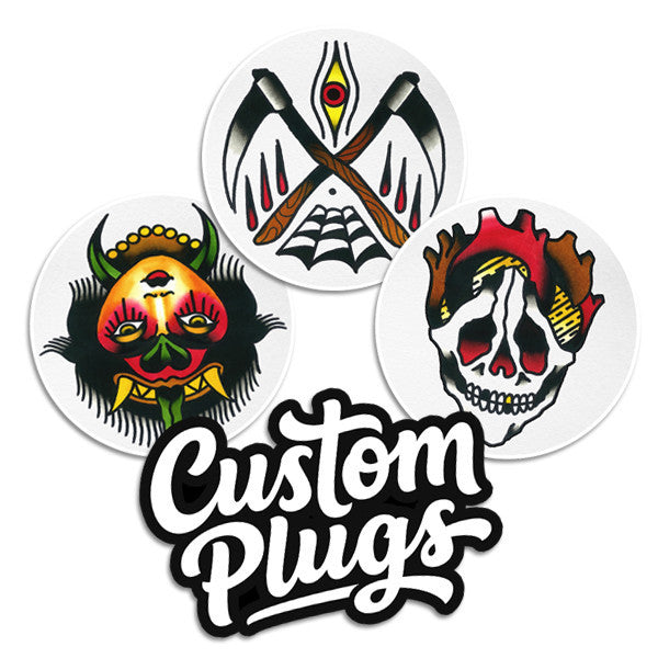 Pablo - Sticker Pack - Custom Flesh Plugs & Gauges, Alternative, Tattoo - Stickers - 1