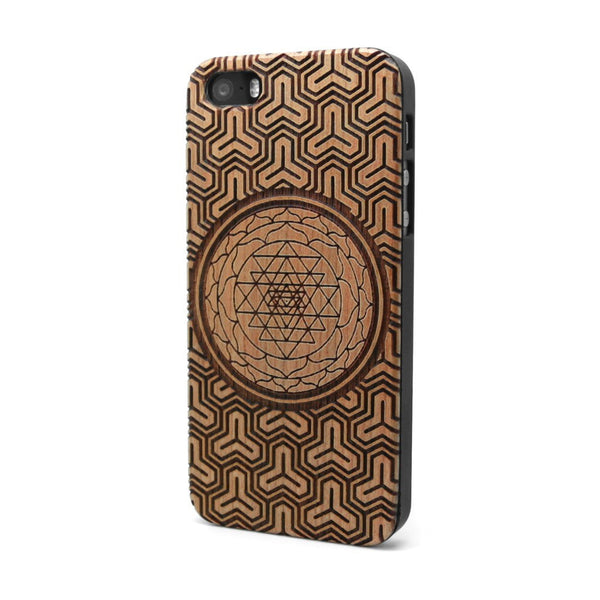 Sri Yantra - iPhone Case - Custom Flesh Plugs & Gauges, Alternative, Tattoo - Phone Cases - 1