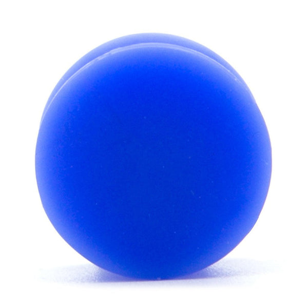 Blue Solid Silicone Plug - Custom Flesh Plugs & Gauges, Alternative, Tattoo - Silicone Plugs - 1