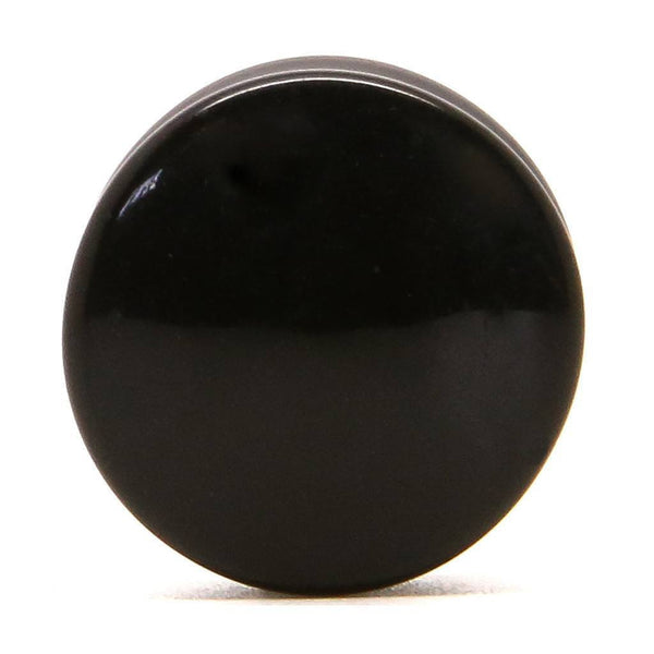 Black Acrylic - Plug - Custom Flesh Plugs & Gauges, Alternative, Tattoo - Acrylic Plugs - 2