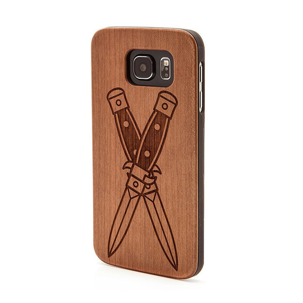 Knives -  Samsung Galaxy Case - Custom Flesh Plugs & Gauges, Alternative, Tattoo - Phone Cases - 1