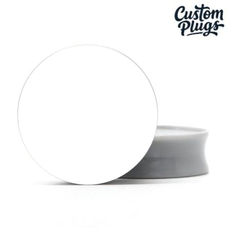 Grey Doubleflare - Custom Flesh Plugs & Gauges, Alternative, Tattoo - Generator - 1