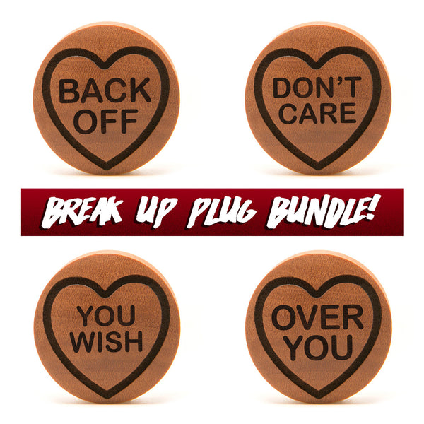 Break Up Love Heart Grab Bag