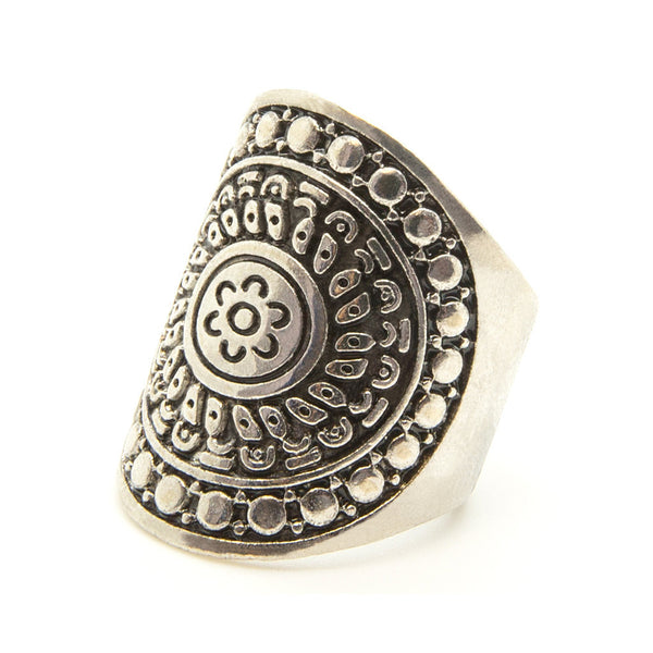 Mandala Ring - Custom Flesh Plugs & Gauges, Alternative, Tattoo - Jewellery - Ring - 1