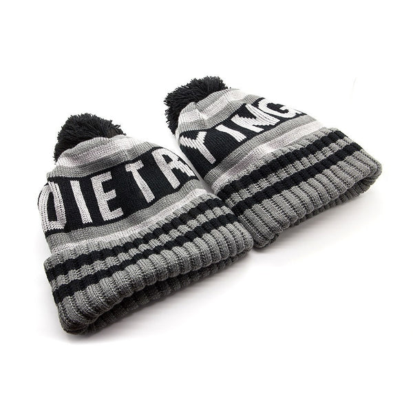 Die Trying Bobble Hat - Custom Flesh Plugs & Gauges, Alternative, Tattoo - Bobble Hats - 1