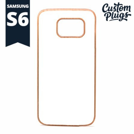 Samsung Galaxy S6 Wooden Case - Plugs - Ear Gauges, Flesh Tunnels for Stretched Ears - Phone Cases - 1