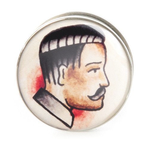 Gent - Steel Plug - Custom Flesh Plugs & Gauges, Alternative, Tattoo - Steel Plugs - 1