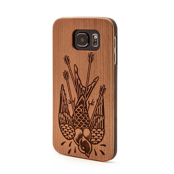 Bird Arrow -  Samsung Galaxy Case - Custom Flesh Plugs & Gauges, Alternative, Tattoo - Phone Cases - 1