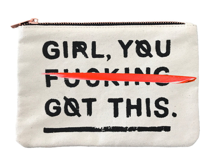 Girl, You F*cking Got This - Canvas Bag