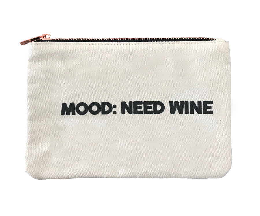 Mood: Need Wine - Canvas Bag