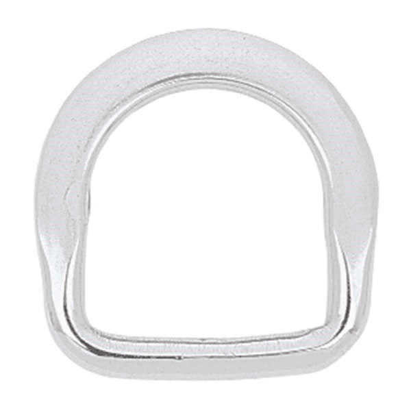 Beveled Saddle Dee Stainless Steel, 1-1/4""