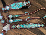Turquoise Tooled