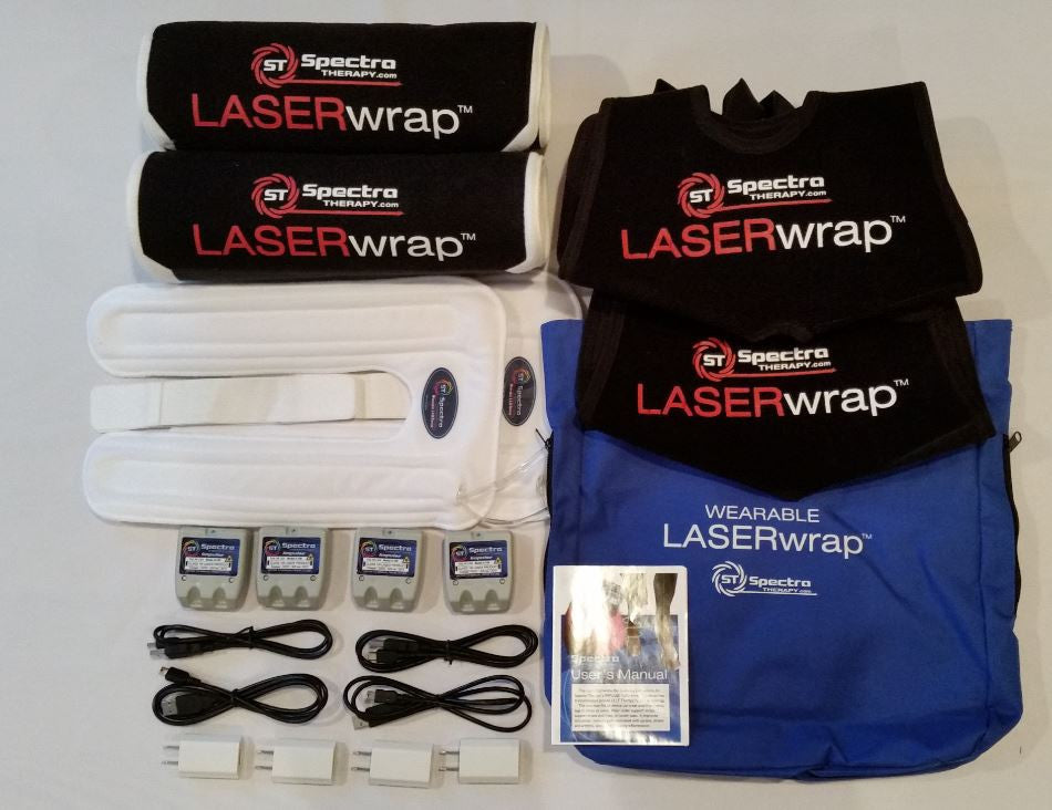 Spectra Laser A8 - Combination Quick Wrap 4 Pack