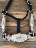 Cream Gator Halter W/ Cheeks